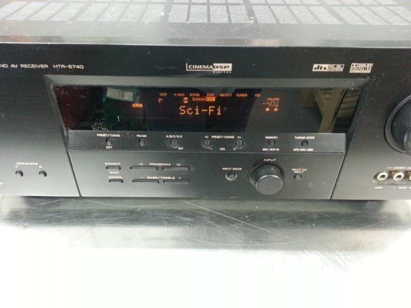 YAMAHA NATURAL SOUND AV RECEIVER HTR-5740