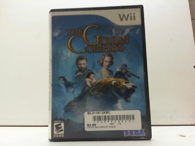 NINTENDO Nintendo Wii Game THE GOLDEN COMPASS