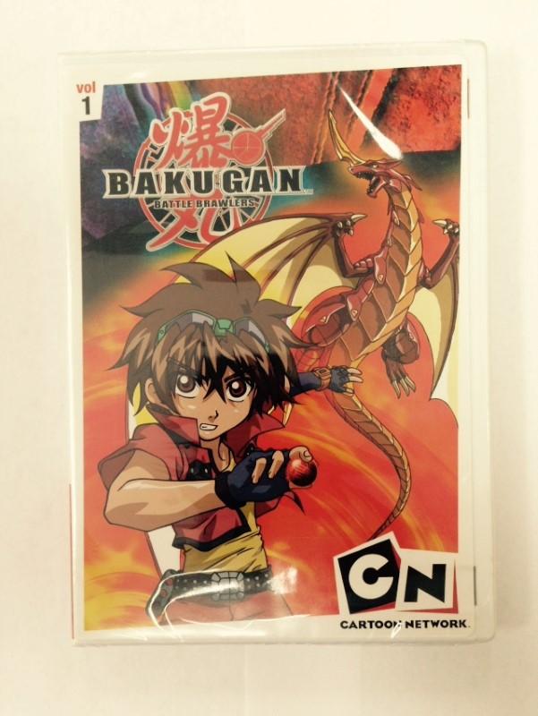 DVD MOVIE BAKUGAN BATTLE BRAWLERS VOL 1
