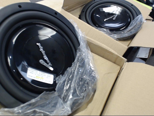 "AUDIO PIPE Car Audio 10"" SUB WOOFER"