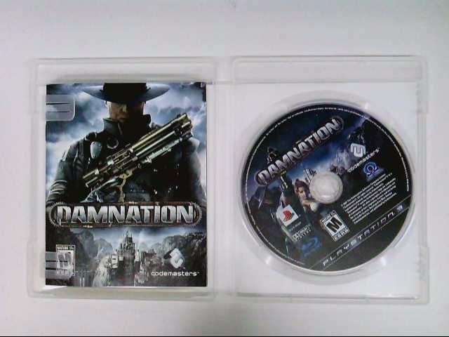 SONY PS3 DAMNATION