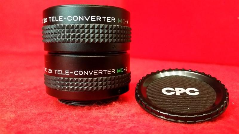 CPC 2x Tele-Converter Lens MC-4 U/M (Qty 2)