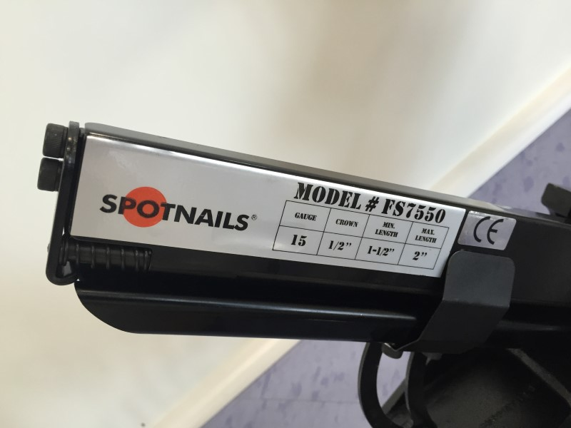 SPOT NAILS FS7550 FLOORING STAPLER