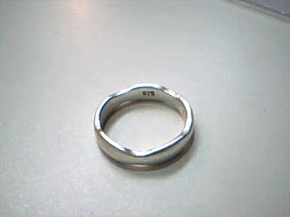 Lady's Silver Ring 925 Silver 2.8g Size:6