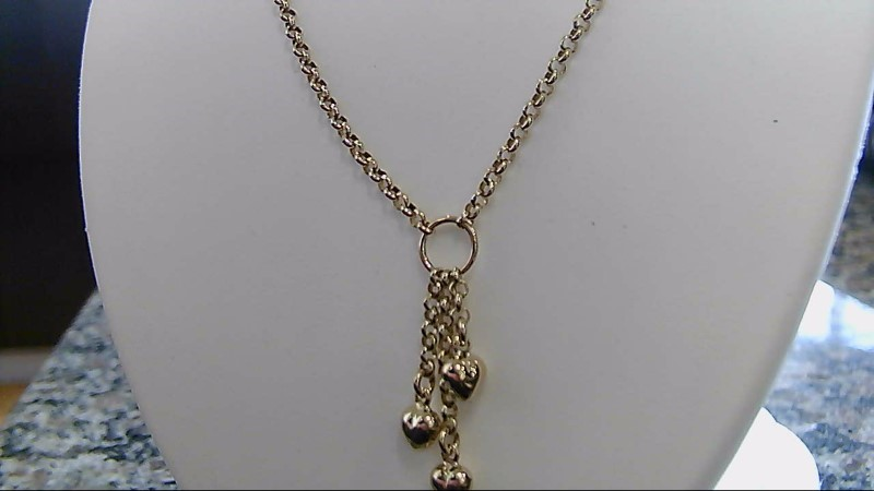 "17"" Gold Chain 14K Yellow Gold 10.8g"