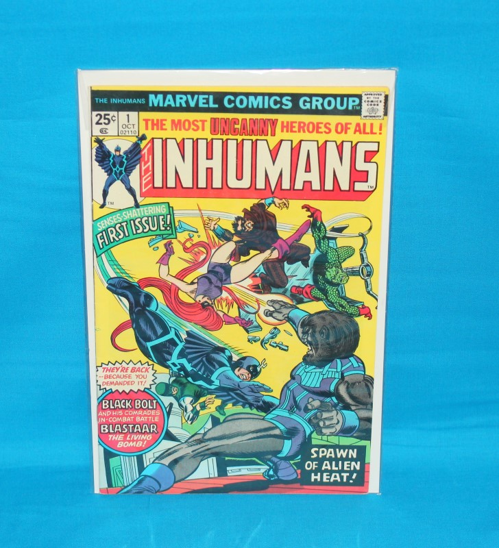 MARVEL COMICS Comic Book THE INHUMANS 1 October First Issue