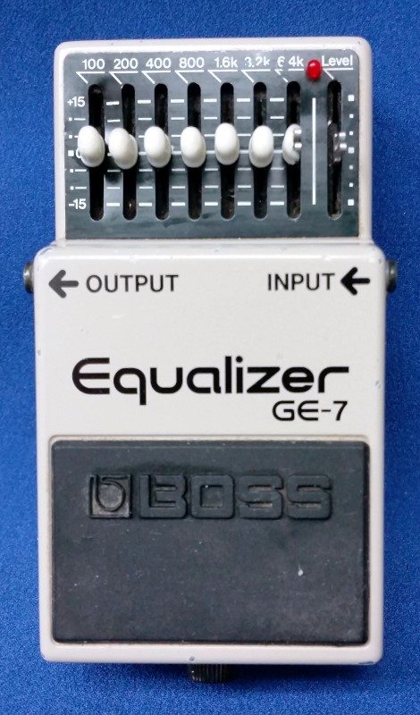 BOSS EFFECTS EQUALIZER GE-7