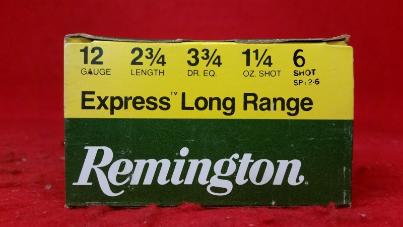 Remington 12ga Express Long Range 6 Shot
