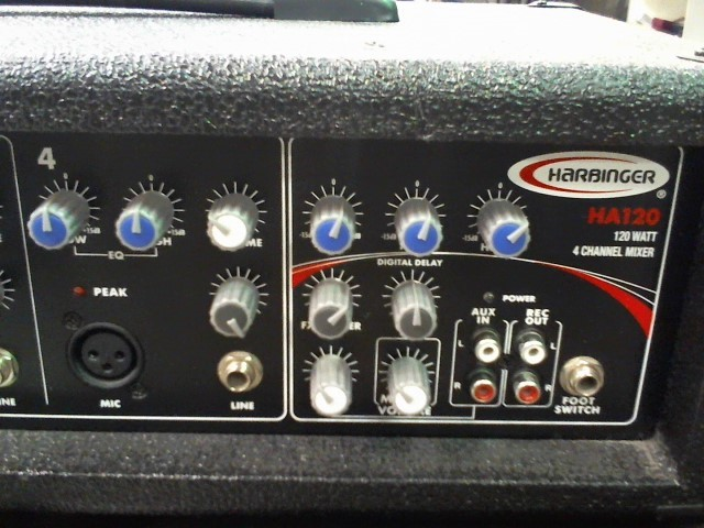 HARBINGER PA System HA 120