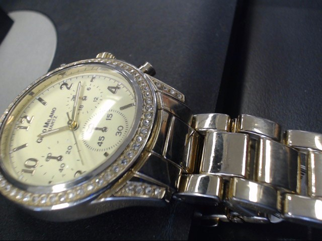 GINO MILANO Gent's Wristwatch NO. 6728