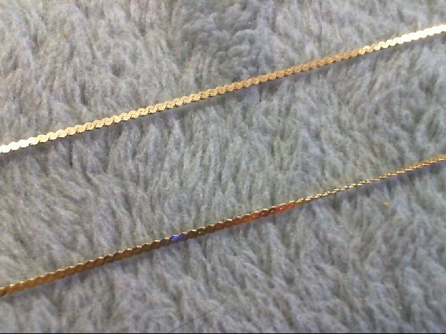 "20"" Gold Chain 14K Yellow Gold 1.1g"