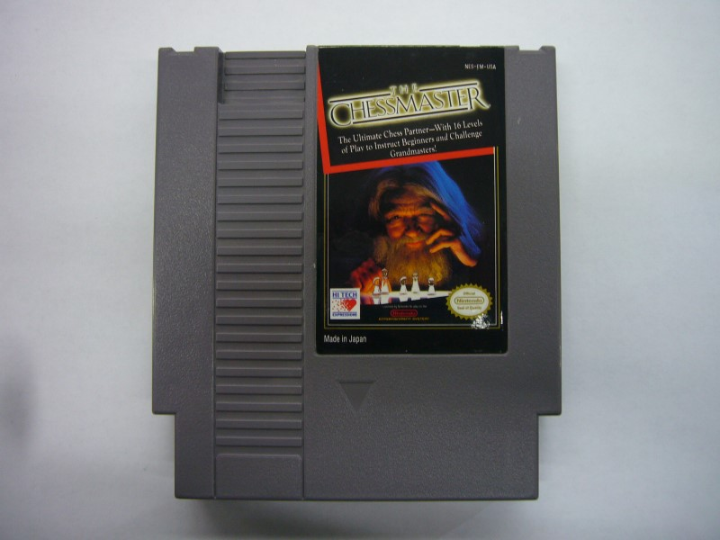 NINTENDO NES Game THE CHESSMASTER *CARTRIDGE ONLY*