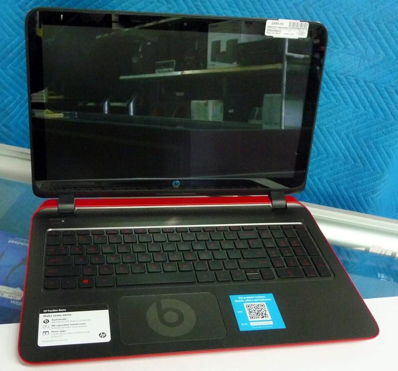 HEWLETT PACKARD PC Laptop/Netbook BEATS 15 NOTEBOOK