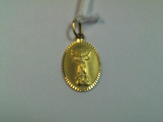 Gold Pendant 14K Yellow Gold 3.9g