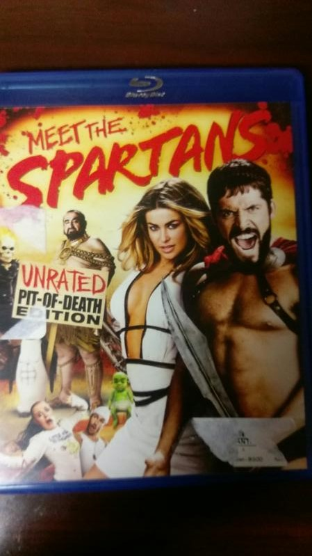 MEET THE SPARTANS UNRATED PIT OF DEATH EDITION BLUE RAY
