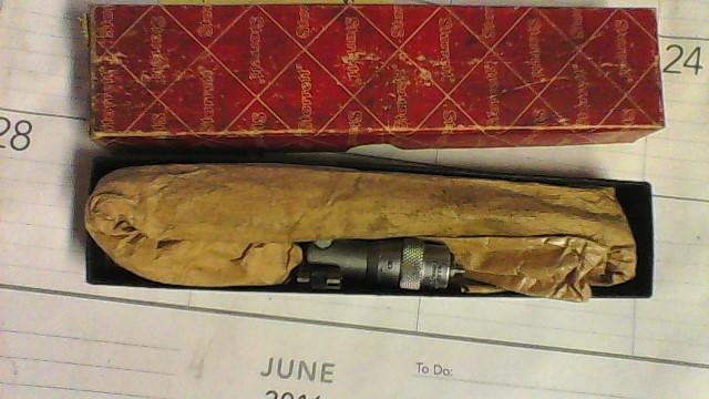 STARRETT Micrometer 124A