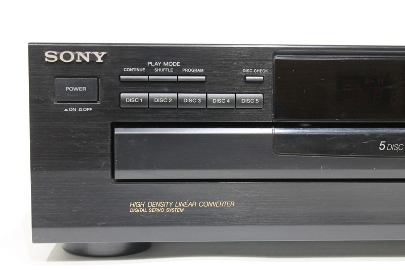 >SONY CDP-C265 5 DISC CHANGER CD PLAYER FREE SHIPPING