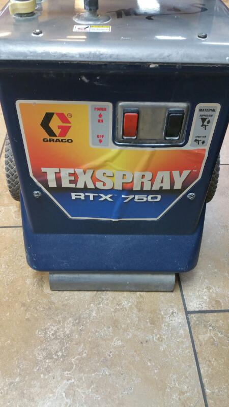 GRACO Airless Sprayer TEXSPRAY RTX 750