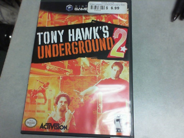 Gamecube Tony Hawk Underground 2