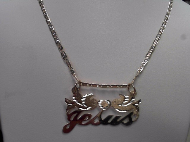 "18"" Gold Fashion Chain 14K Tri-color Gold 5.31g"