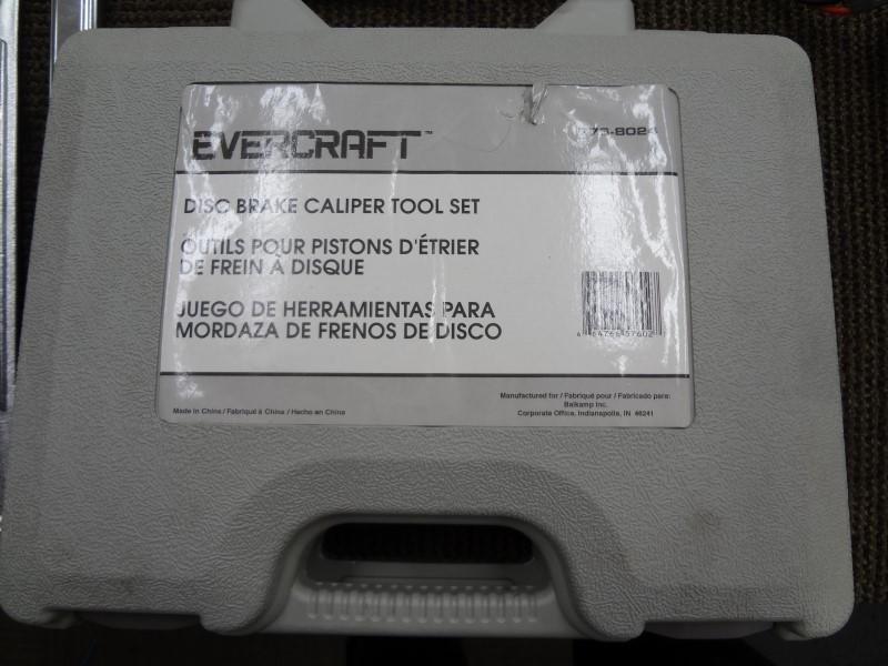 EVERCRAFT TOOLS  DISC BRAKE CALIPER TOOL SET