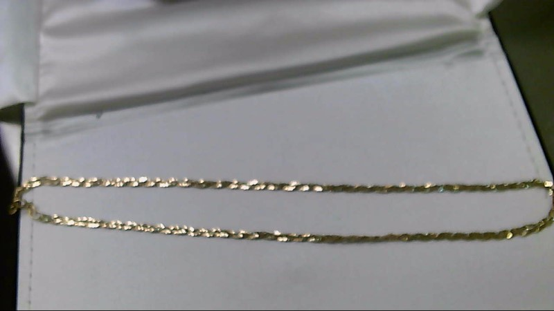 "17"" Gold Fashion Chain 14K Yellow Gold 5.41g"