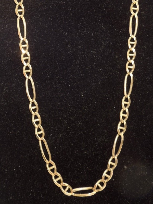 Gold Chain 14K Yellow Gold 12.3g