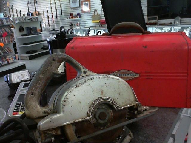 Vintage Craftsman Circular Saw 207.25530
