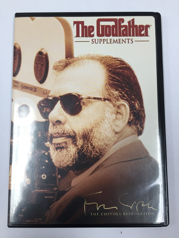 THE GODFATHER THE COPPOLA RESTORATION FULL BOX SET