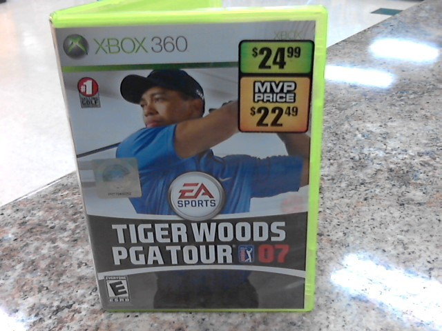 MICROSOFT Microsoft XBOX 360 Game TIGER WOODS