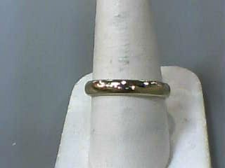 Gent's Gold Wedding Band 14K Yellow Gold 2.4dwt Size:10