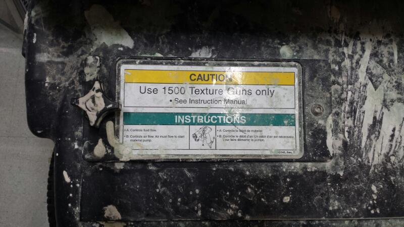 Graco RTX 1500 TexSpray Texture Sprayer 248201