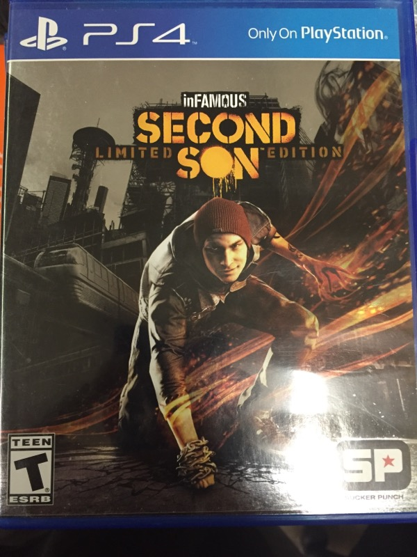 INFAMOUS SECOND SON LIMITED EDITION - PS4