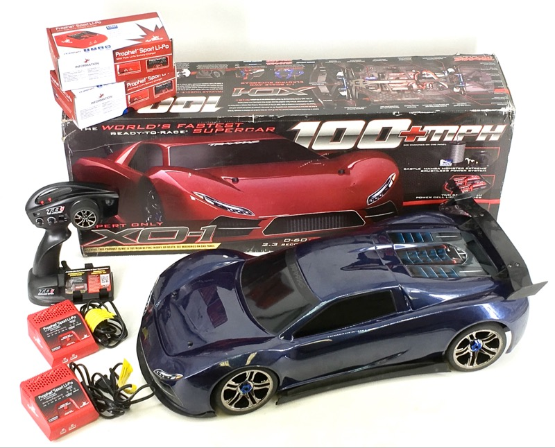 Traxxas Ready To Race Super Car (XD-1) Expert Only