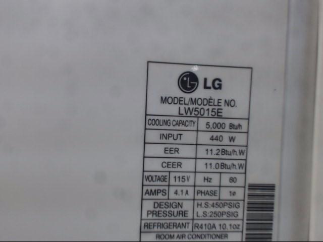 LG Air Conditioner AIR CONDIOTIONER LW5015E