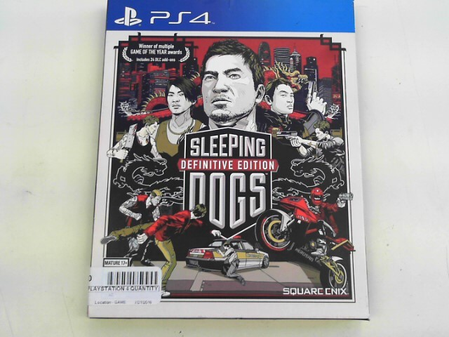 SONY Sony PlayStation 4 Game SLEEPING DOGS DEFINITIVE EDITION