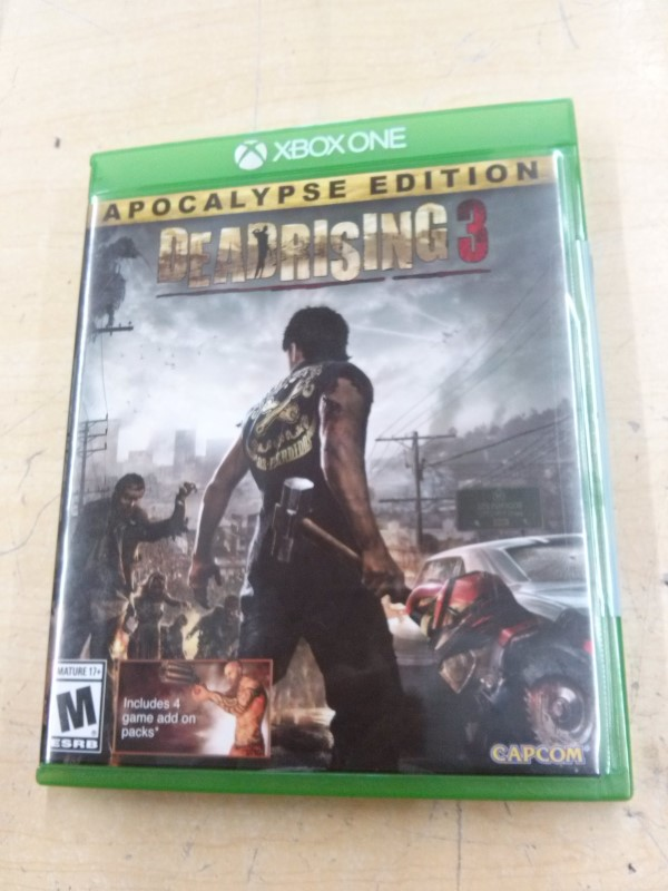MICROSOFT Microsoft XBOX One Game DEADRISING 3 - XBOX ONE