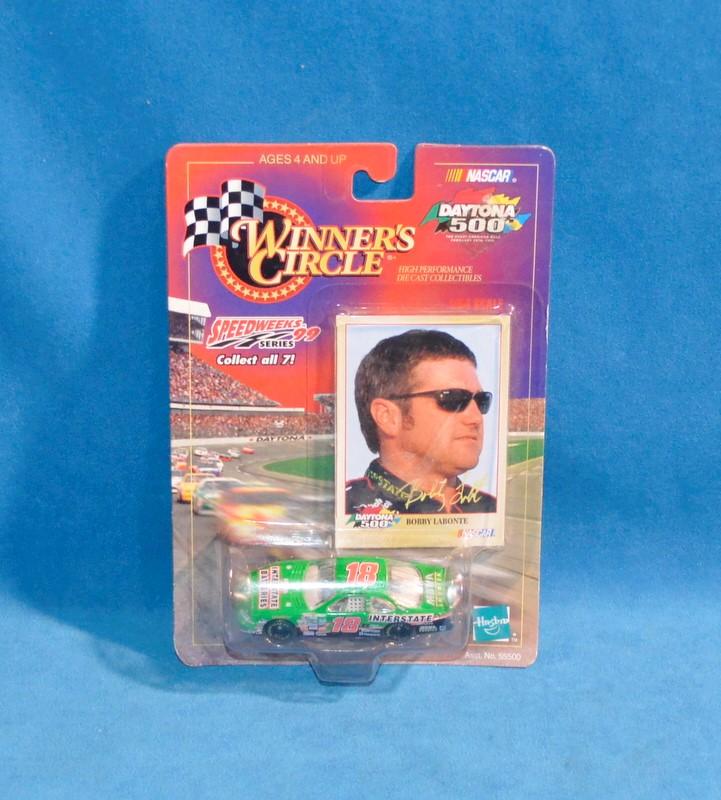 WINNERS CIRCLE Bobby Labonte #18 NASCAR Speedweeks Series Diecast Car