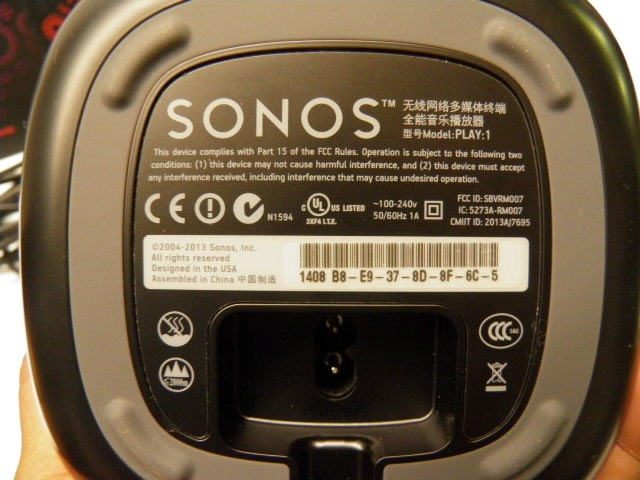 SONUS Speakers PLAY1