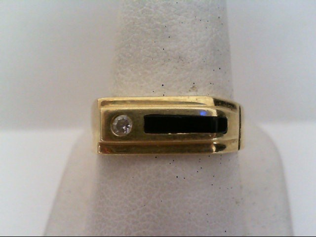 Gent's Gold Ring 14K Yellow Gold 4.8g