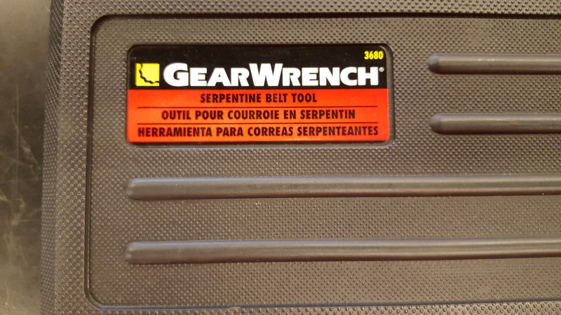 GEARWRENCH TOOLS Hand Tool SERPENTINE BELT TOOL