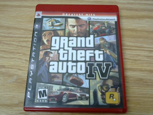 SONY Sony PlayStation 3 Game GRAND THEFT AUTO IV - PS3