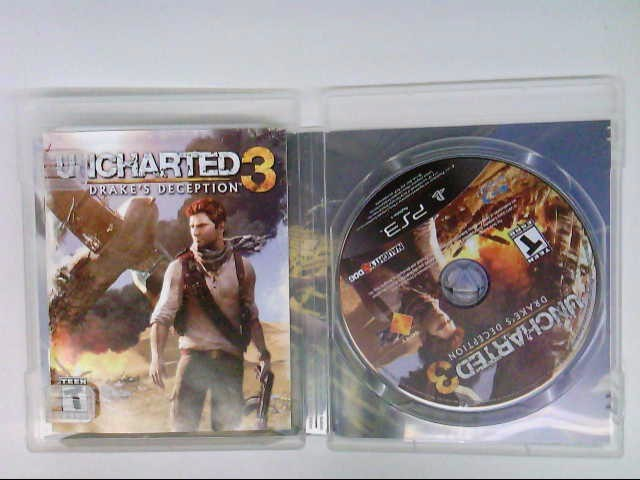 PS3 UNCHARTED 3 - DRAKES DECEPTION