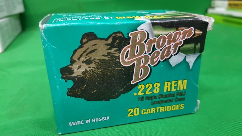 BROWN BEAR AMMO Ammunition AB223FMJ