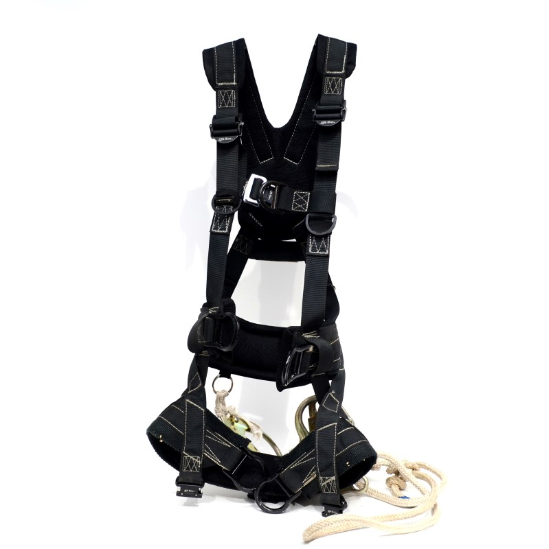 ELK RIVER 67603 POLYESTER/NYLON PEREGRINE 6 D-RING LG BODY HARNESS>