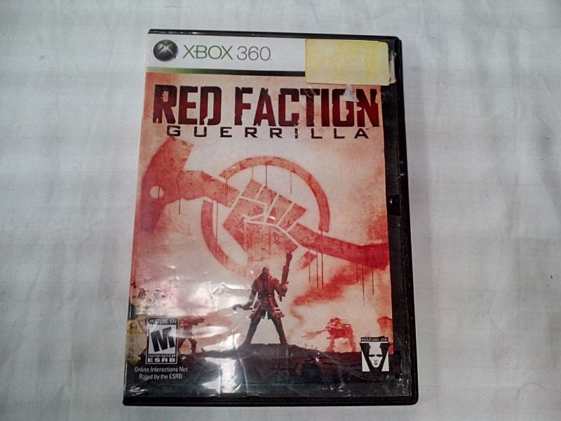MICROSOFT XBOX 360 RED FACTION GUERILLA