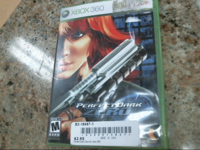MICROSOFT Microsoft XBOX 360 Game PERFECT DARK ZERO (XBOX 360)