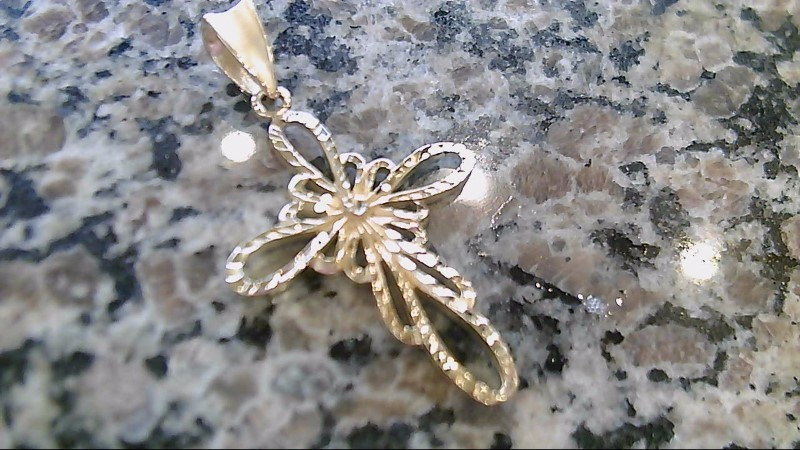 Gold Pendant 14K Yellow Gold 6.5g