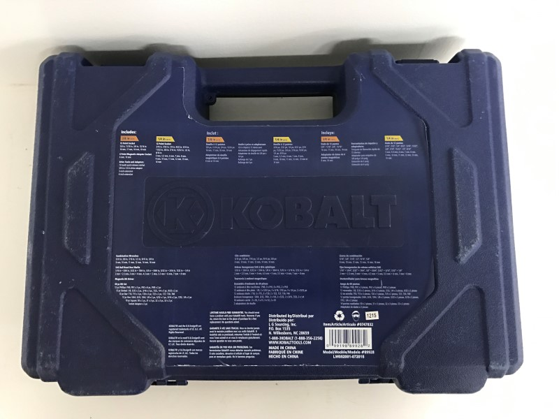 KOBALT TOOLS SOCKETS AND WRENCH SET