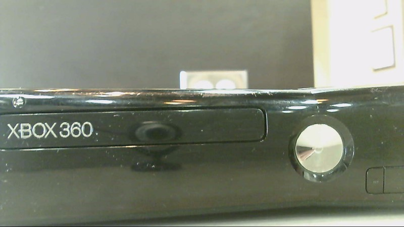 Preowned Microsoft Xbox 360 250GB 1439 Black